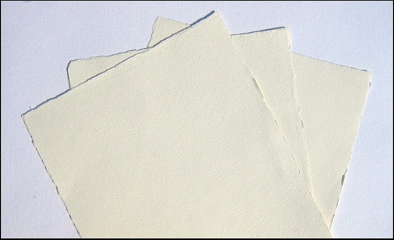Papel de acuarela hecho a mano, 70 x 100 cm, 5 hojas, color ...