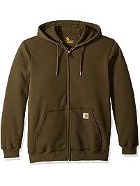 018a2e6e8a5f81 Carhartt Men s Midweight Hooded Zip Front Sweatshirt