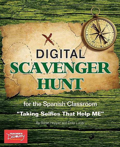 Amazon com: Spanish Digital Scavenger Hunt Book: Office Products