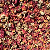 Dried Red Rose Buds & Petals (1/2 Pound)