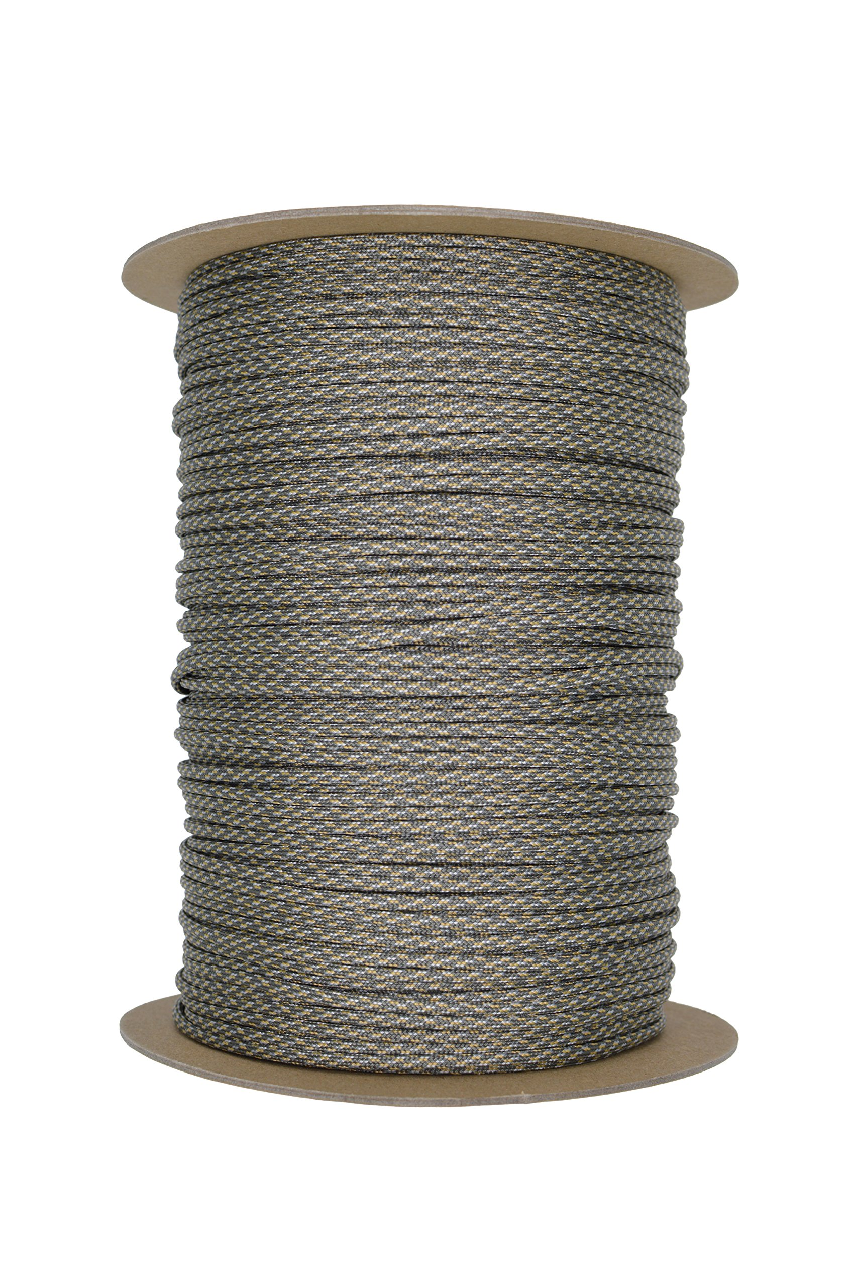 Paracord Rope 550 Type III Paracord - Parachute Cord - 550lb Tensile Strength - 100% Nylon - Made In The USA (ACU Digital, 100 Feet) by Paracord Rope (Image #3)