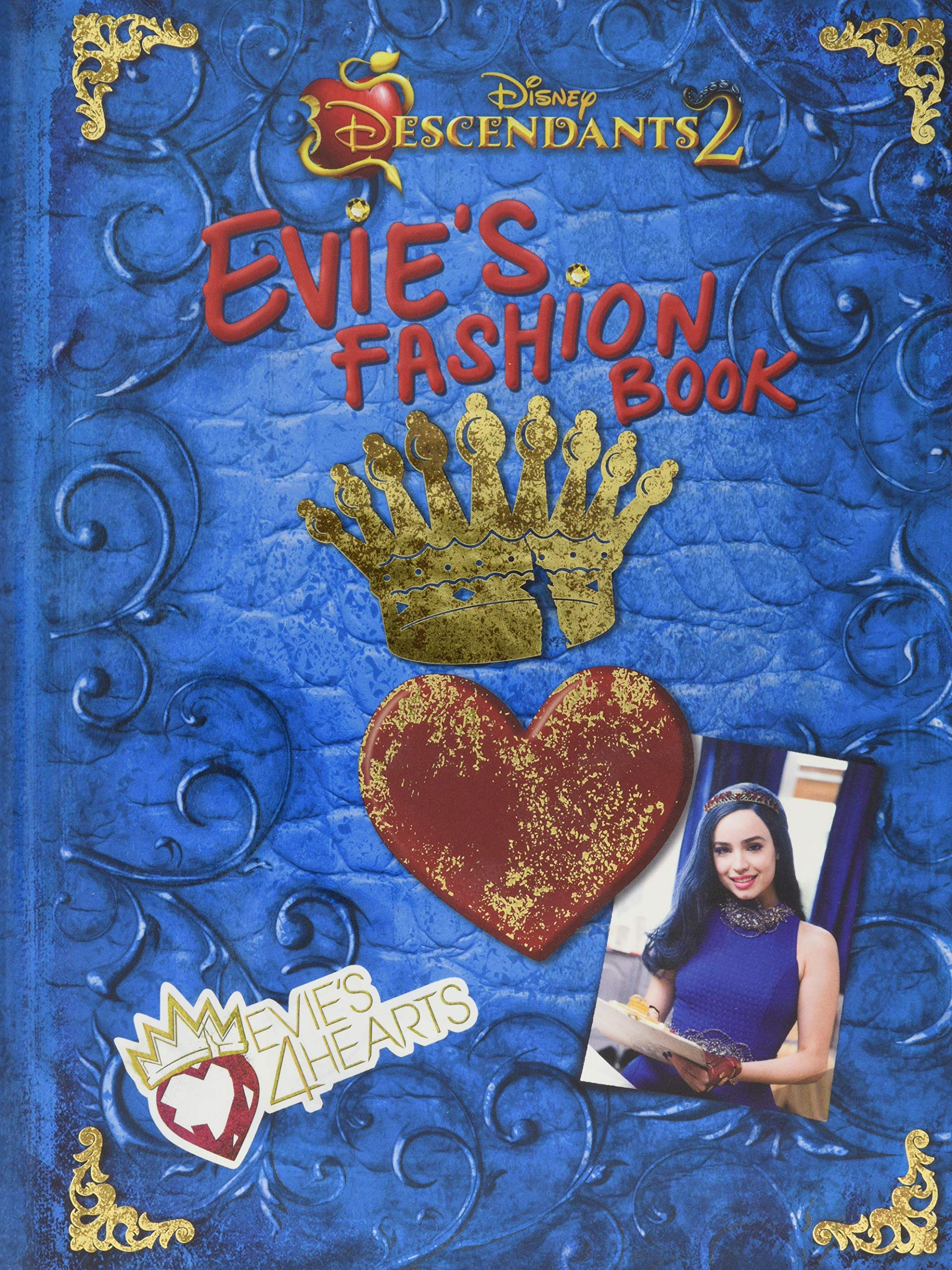 Amazon com: Descendants 2 Evie's Fashion Book (Disney