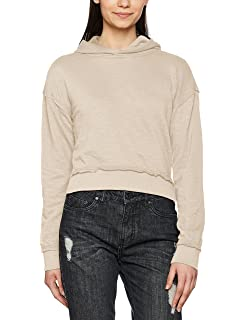Classics Terry Ladies Short Slub Sweat Hoody Urban À Femme Capuche InAdgTw