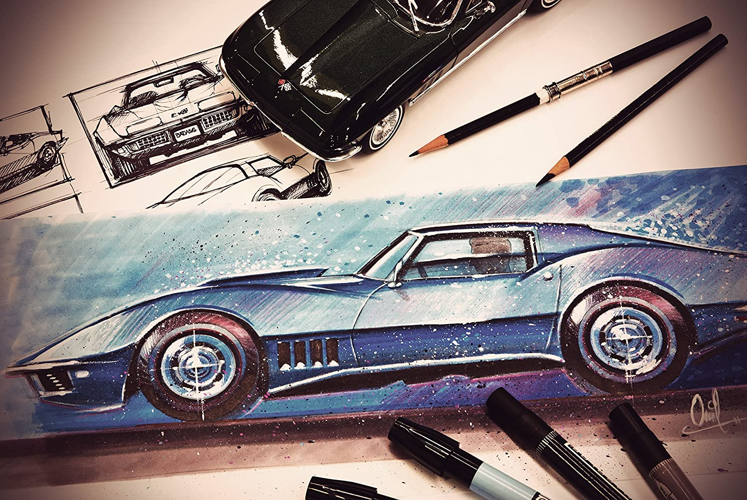 Amazon.com: Draw Cars Now: Techniques for Pro Designers and ...