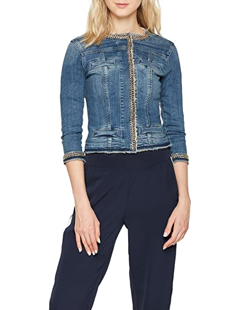 Donna Jo Jeans Liu Kate Amazon it Abbigliamento Giacca wRACqfxS
