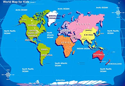 Desgin studio20 world map for kids level 1 a3 hd poster art desgin studio20 world map for kids level 1 a3 hd poster art pnca22035pnca22035 gumiabroncs Image collections