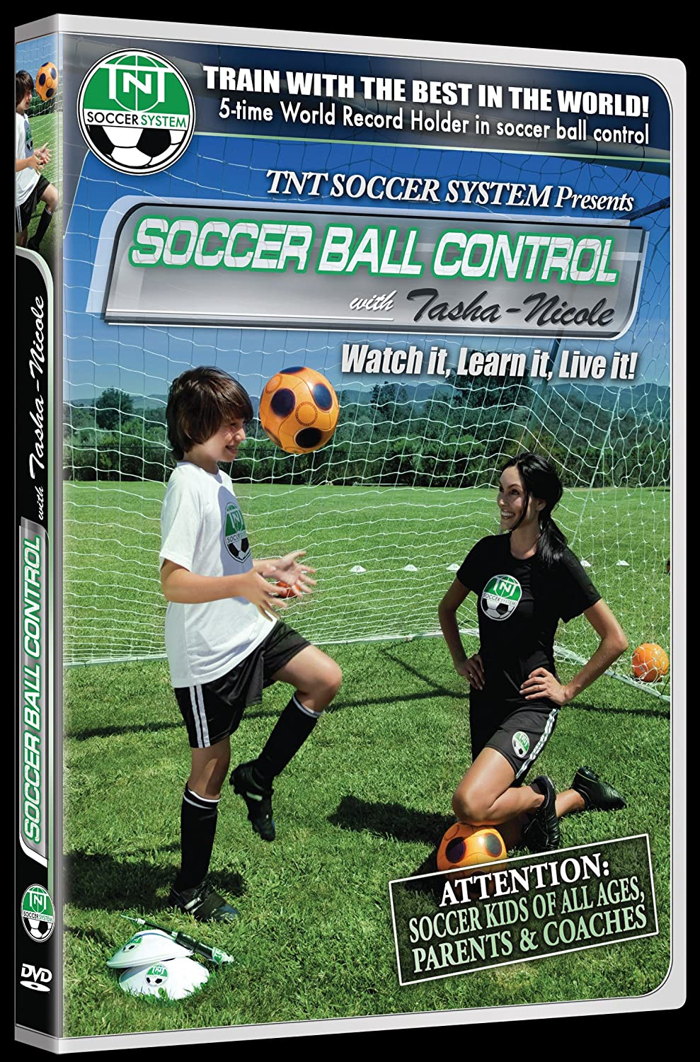 amazon com soccer training dvd for kids of all ages