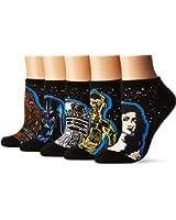 Star Wars 40th Anniversary 5 Pack No Show Socks