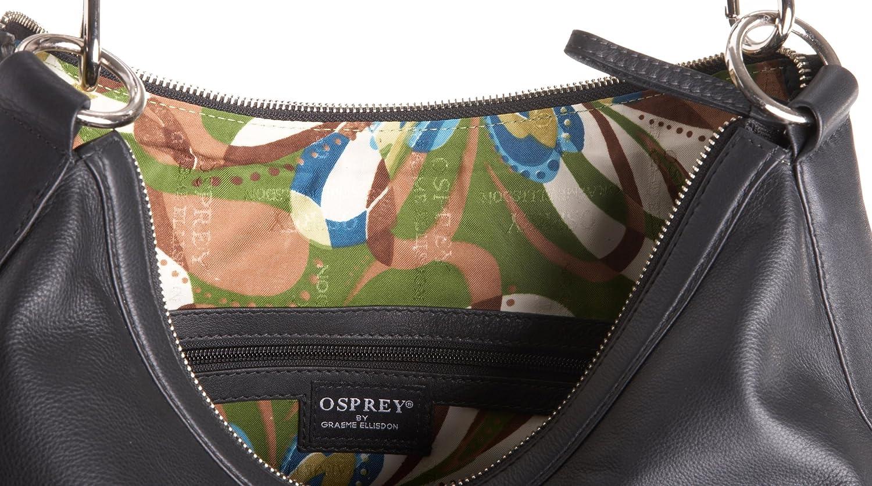 Osprey London The Chandler, axelväska för kvinnor Svart svart