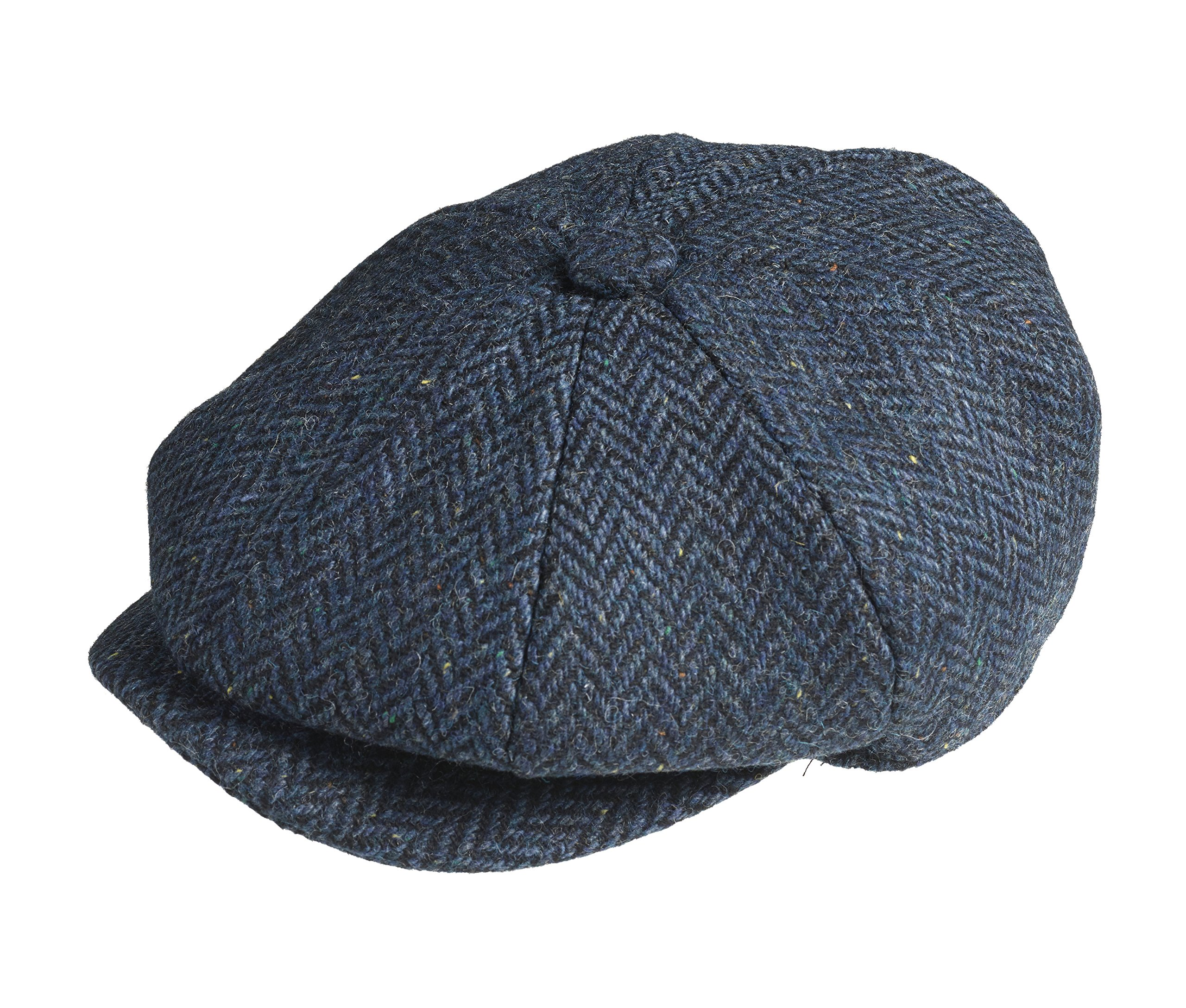 fd4718c3018 Peaky Blinders 8 Piece  Newsboy  Style Flat Cap -100% Wool Fabric Variations