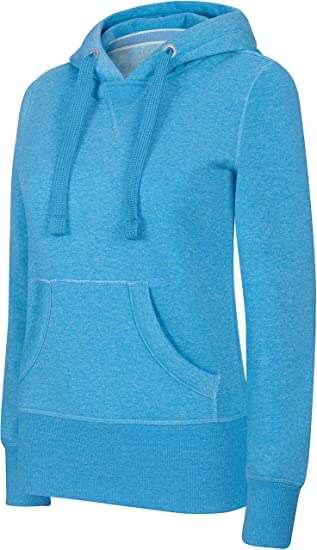 Kariban Sweat-Shirt à Capuche Femme mélange  Amazon.fr  Vêtements et  accessoires ac01d8dd397