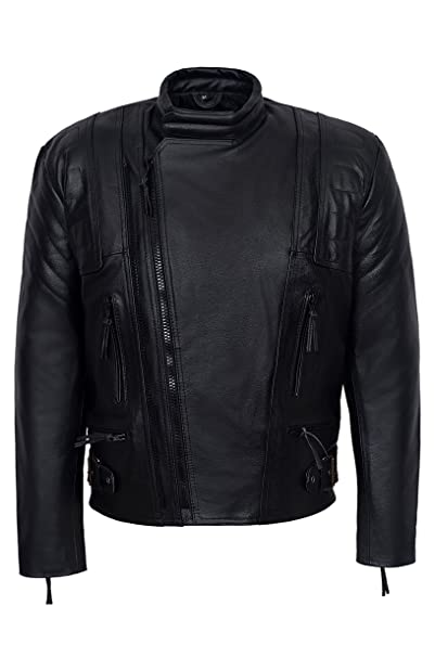 TERMINATOR 3 Mens BLACK Motorcycle Motorbike Cruiser ...