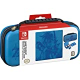 Nintendo Switch Game Traveler Deluxe Travel Case- Zelda Breath of the Wild – Link - Blue (Discontinued by Manufacturer)