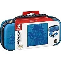 Nintendo Switch Game Traveler Deluxe Travel Case- Zelda Breath of the Wild - Link - Blue