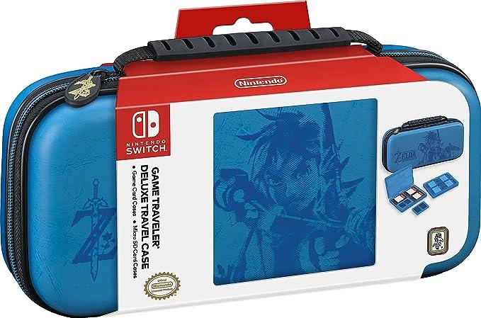 16 opinioni per BB Custodia Deluxe Zelda Blu SWITCH- Licensing