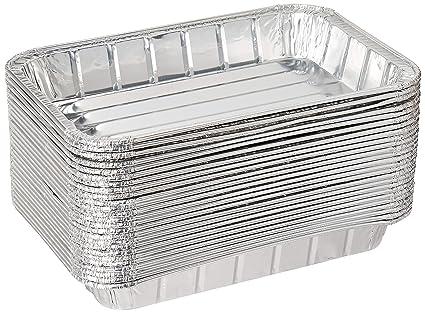 Amazon.com: Pack de 25 posavasos desechables de aluminio ...