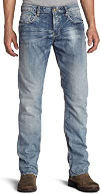 Buffalo David Bitton Mens Six Stretch Straight-Leg Jean