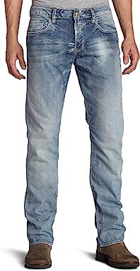 Buffalo David Bitton Mens Six Stretch Straight-Leg Jean