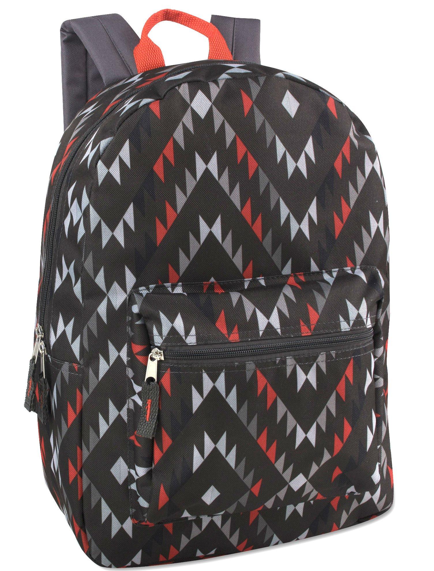 17'' Trailmaker Backpack Bookbag -Aztec 4614 by Trail maker (Image #1)