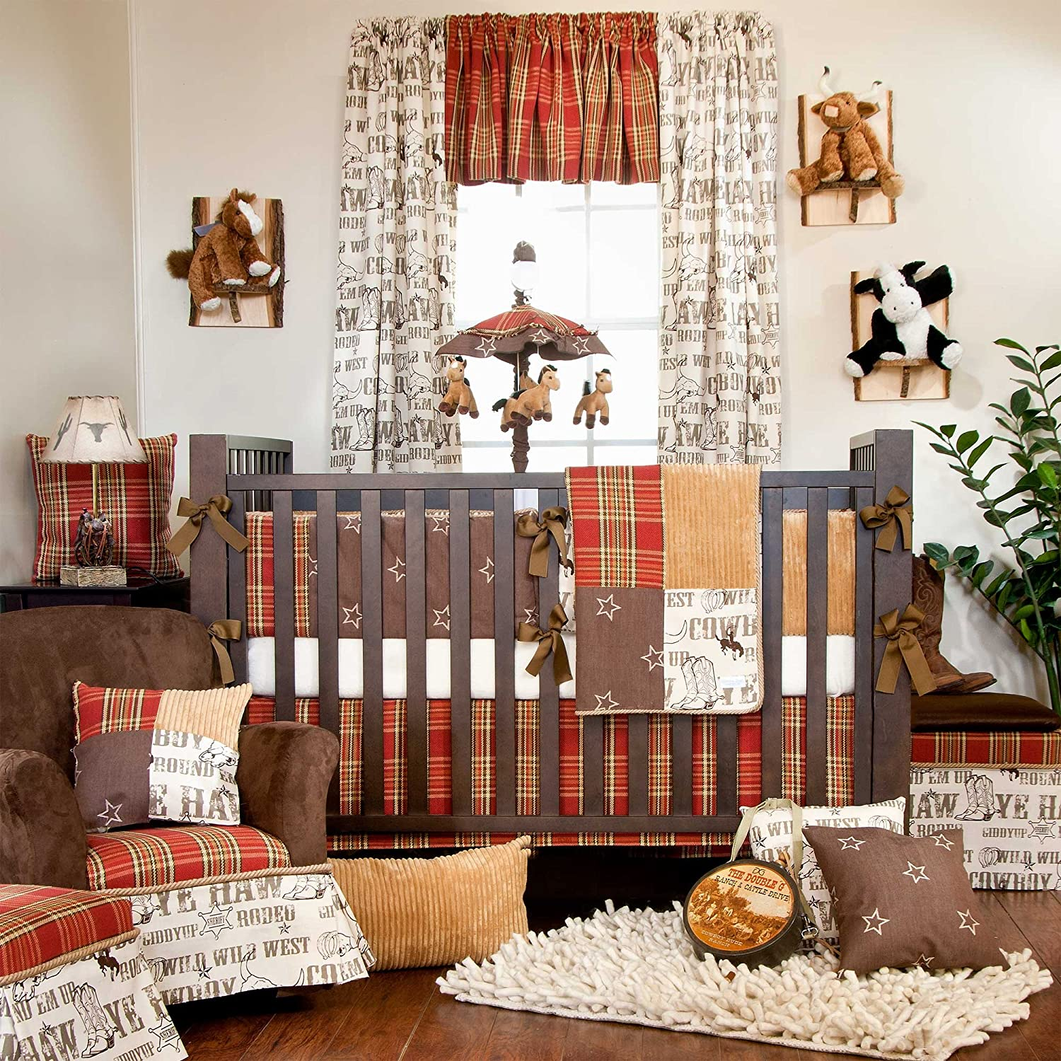 Carson 5 Piece Baby Crib Bedding Set with Diaper Stacker by Glenna Jean