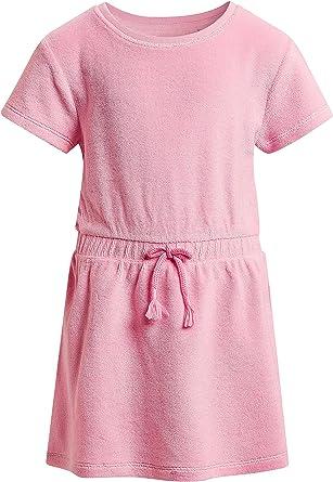 Next Robe En Tissu Eponge 3 Mois A 6 Ans Fille Rose 9 12 Mois Amazon Fr Vetements Et Accessoires