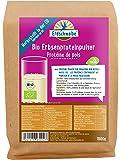 NEU Erdschwalbe EU Bio Erbsenprotein - Jetzt Hergestellt in der EU - 87% Proteingehalt - Veganes Eiweißpulver - 1 Kg