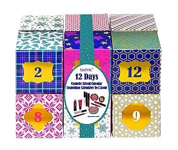 Calendario De Adviento Maquillaje.Technic Bloques De Belleza Lujo Cosmeticos Calendario De Adviento