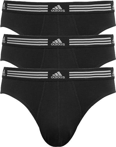 horario pescado oveja  Amazon.com: Ropa interior elastizada para hombre Adidas (Paquete de 3):  Clothing