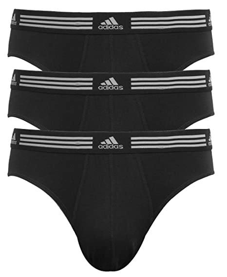 1490d2141f5a Amazon.com  adidas Men s Athletic Stretch Brief (3-Pack)  Sports ...