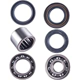 Rear Wheel Axle Carrier Bearing Seal Kit for 80-83 Honda ATC185S ATC200 ATC200E