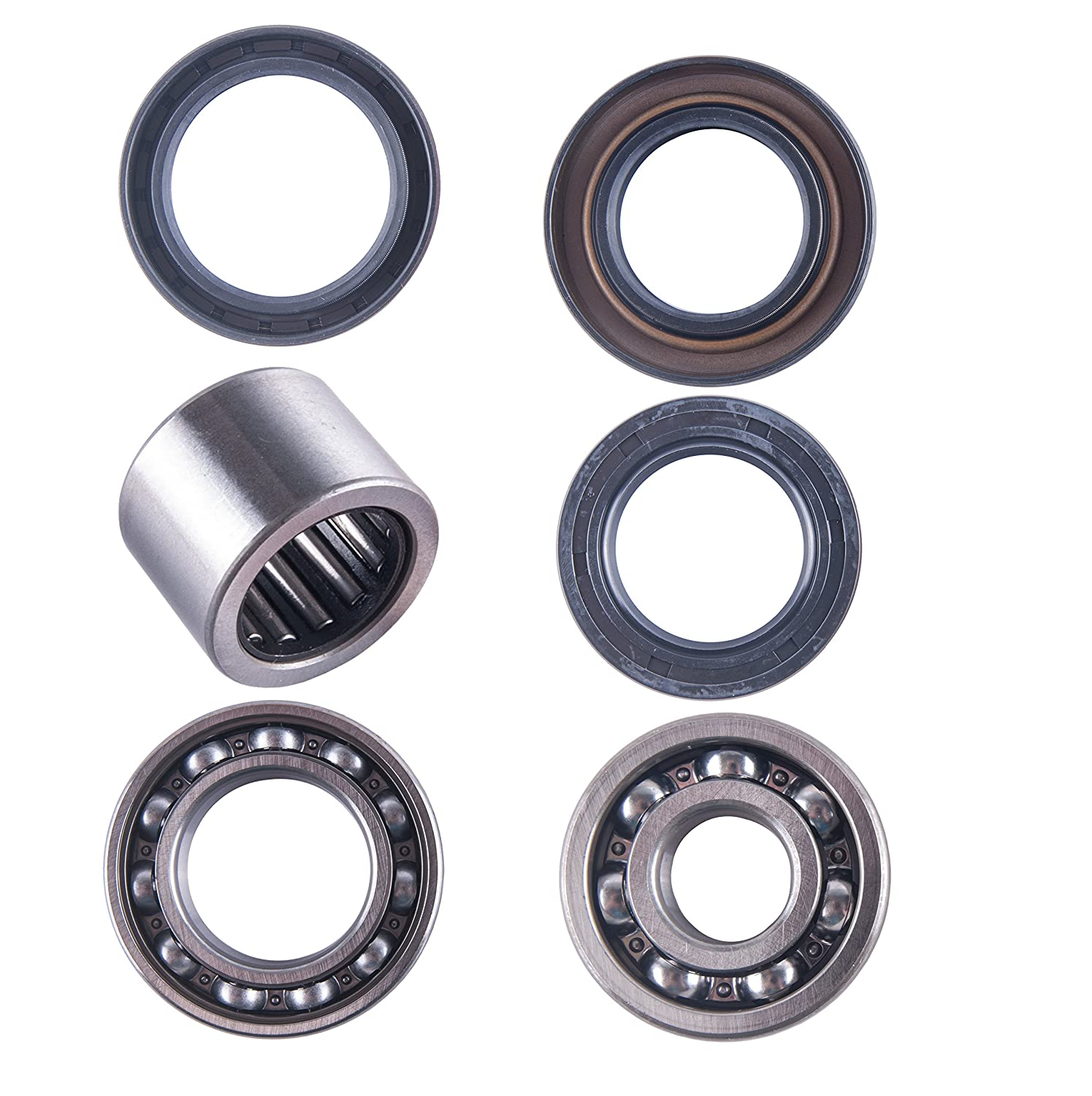 East Lake Axle Rear differential bearing /& seal kit compatible with Honda TRX//ATC 250R 250SX 1985 1986 1987