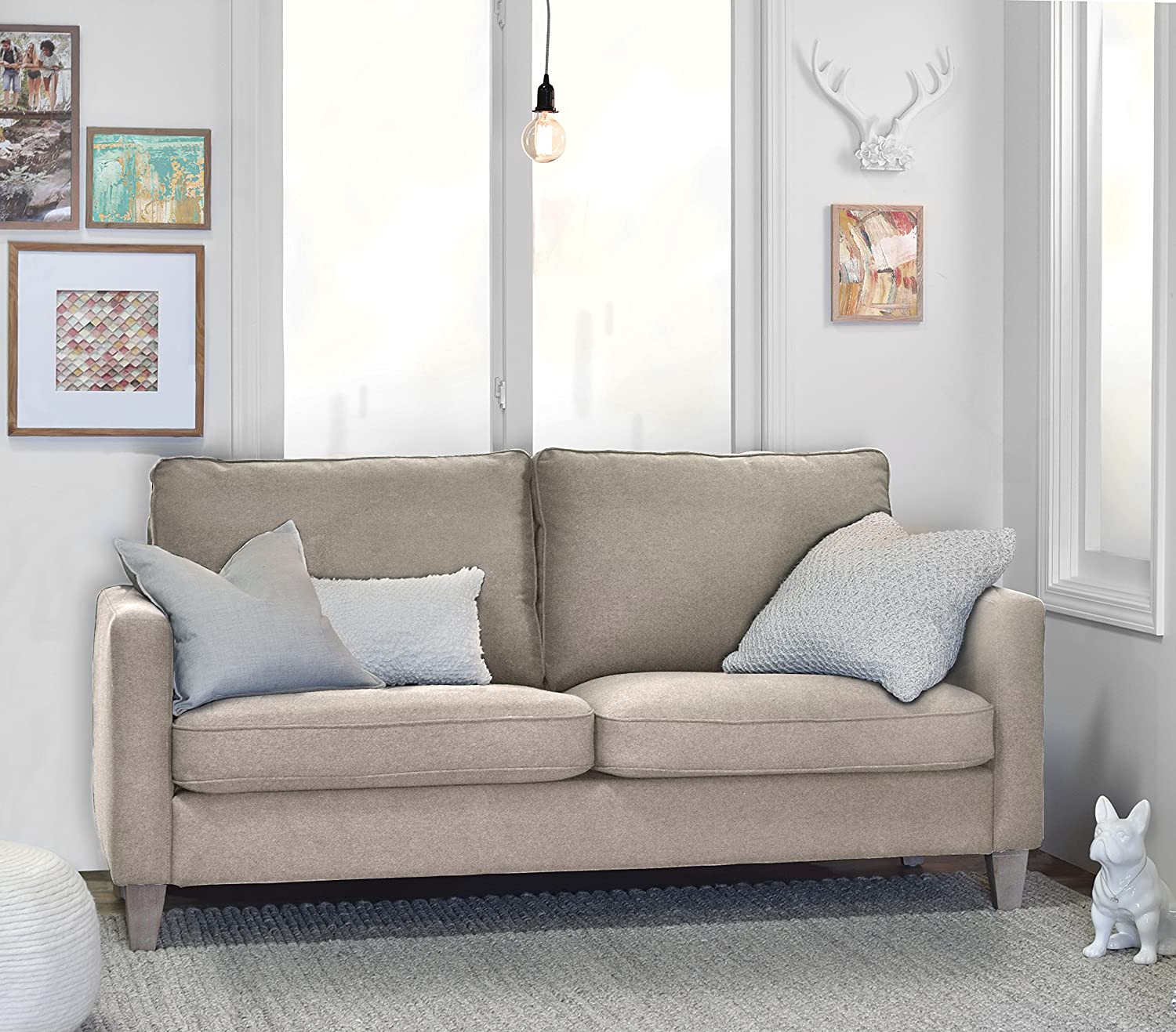 Elle Decor Porter Sofa - Beige