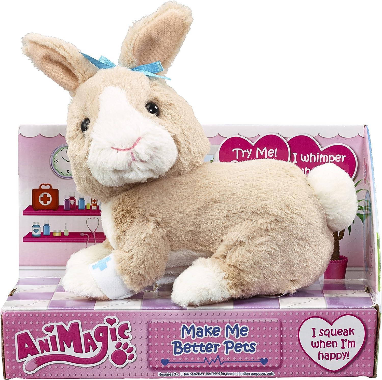 Animagic Make Me Better Pets Bunny Toy Amazon Co Uk Toys Games