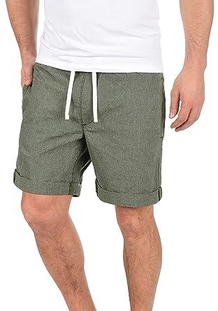 8c719c6e617a PRODUKT Senór Herren Chino Shorts Bermuda Kurze Hose Mit Kordel Aus 100%  Baumwolle Regular Fit  Amazon.de  Bekleidung