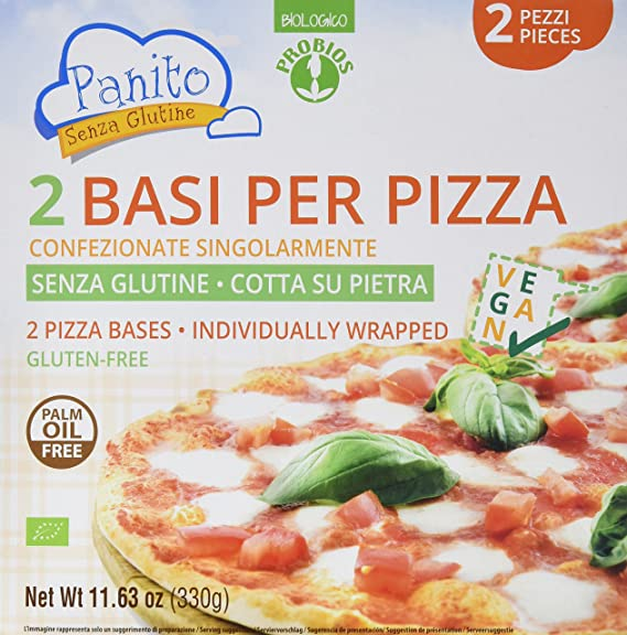 Probios Panito Base para Pizza - Paquete de 6 x 330 gr ...