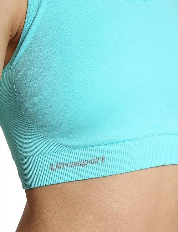 Ultrasport - Sujetador Deportivo Funcional para Mujer, Medio Impacto, Espalda nadadora: Amazon.es: Deportes y aire libre