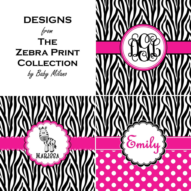 Zebra Print /& Polka Dots Womens Pajama Pants L Pink Personalized
