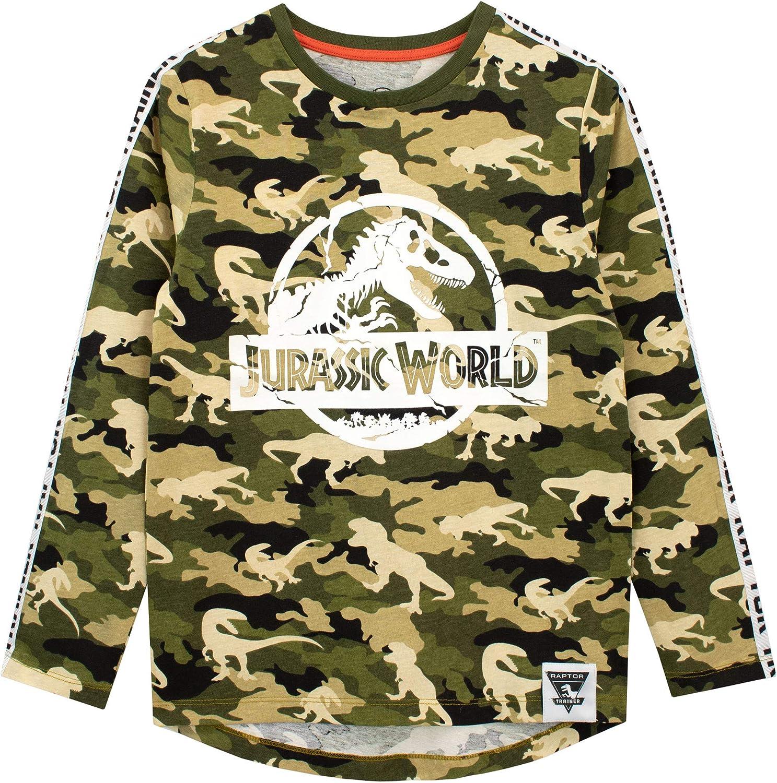 Jurassic World Maglietta a Maniche Lunga per Ragazzi Dinosauro