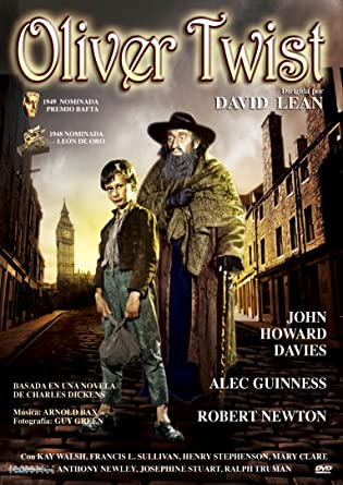 Image result for oliver twist david lean movie poster amazon