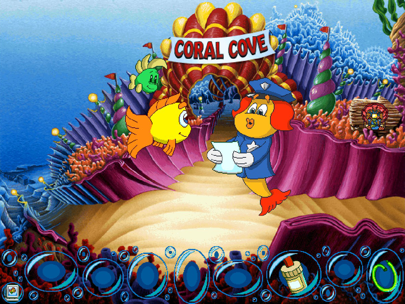 Humongous entertainment complete pack online game code for Freddi fish online