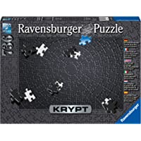 Ravensburger 152605 Krypt Puzzel Black - Legpuzzel - 736 Stukjes