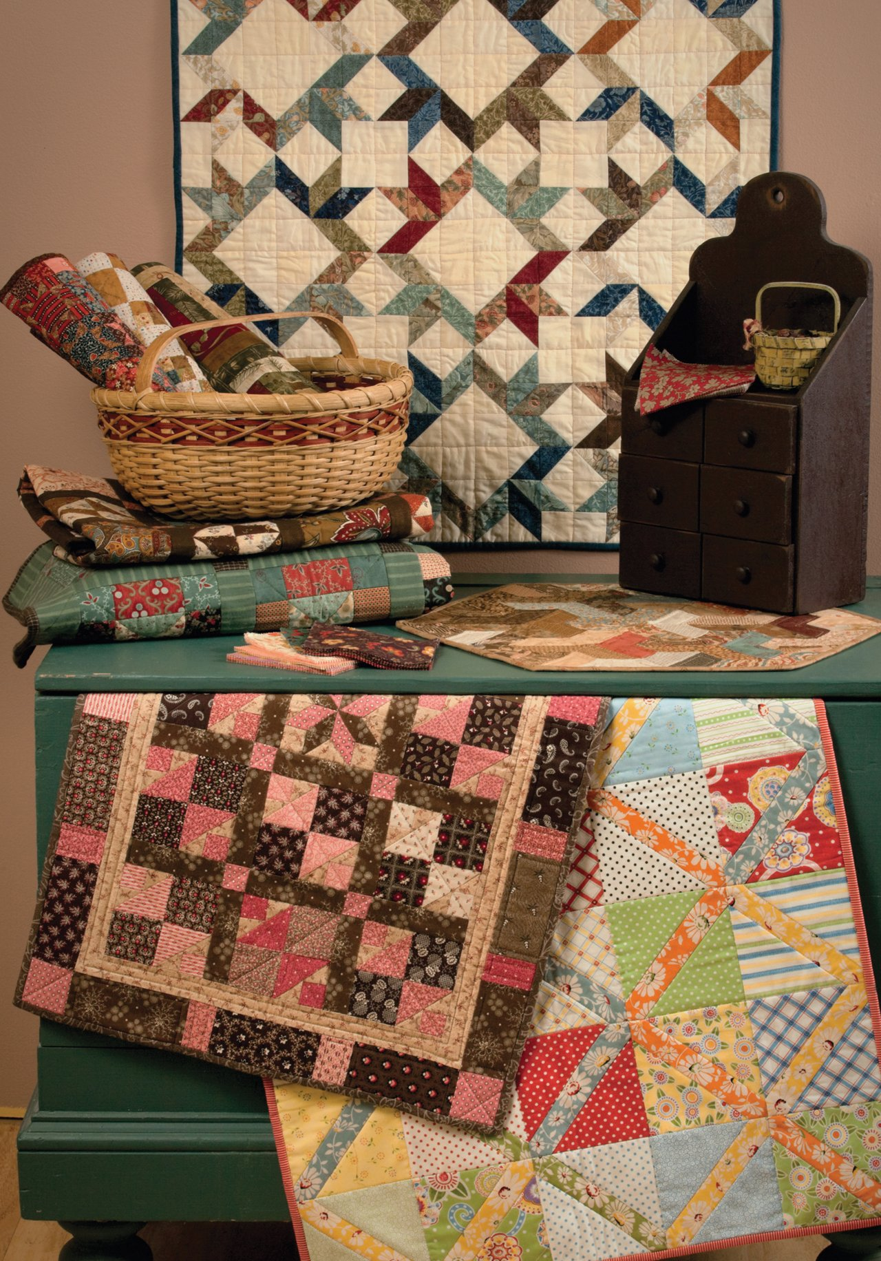 101 Fabulous Small Quilts: That Patchwork Place: 9781604682687: Amazon.com:  Books