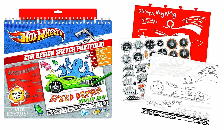 Hot Wheels IMC Toys 88001 Libreta de dibujo: Amazon.es: Juguetes y ...