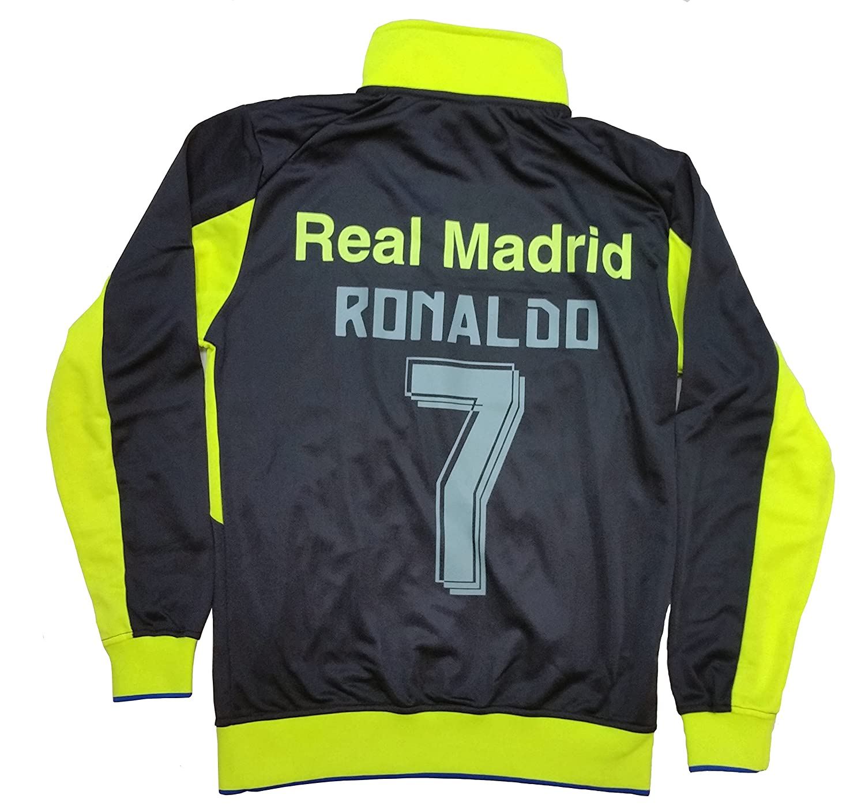 Real Madrid Track Jacket Ronaldo 7 Official Merchandise Licensed Rhinox