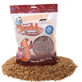 1 Lb / 454g Chubby Dried Mealworms for Wild Birds etc. approx. 16,000 Mealworms
