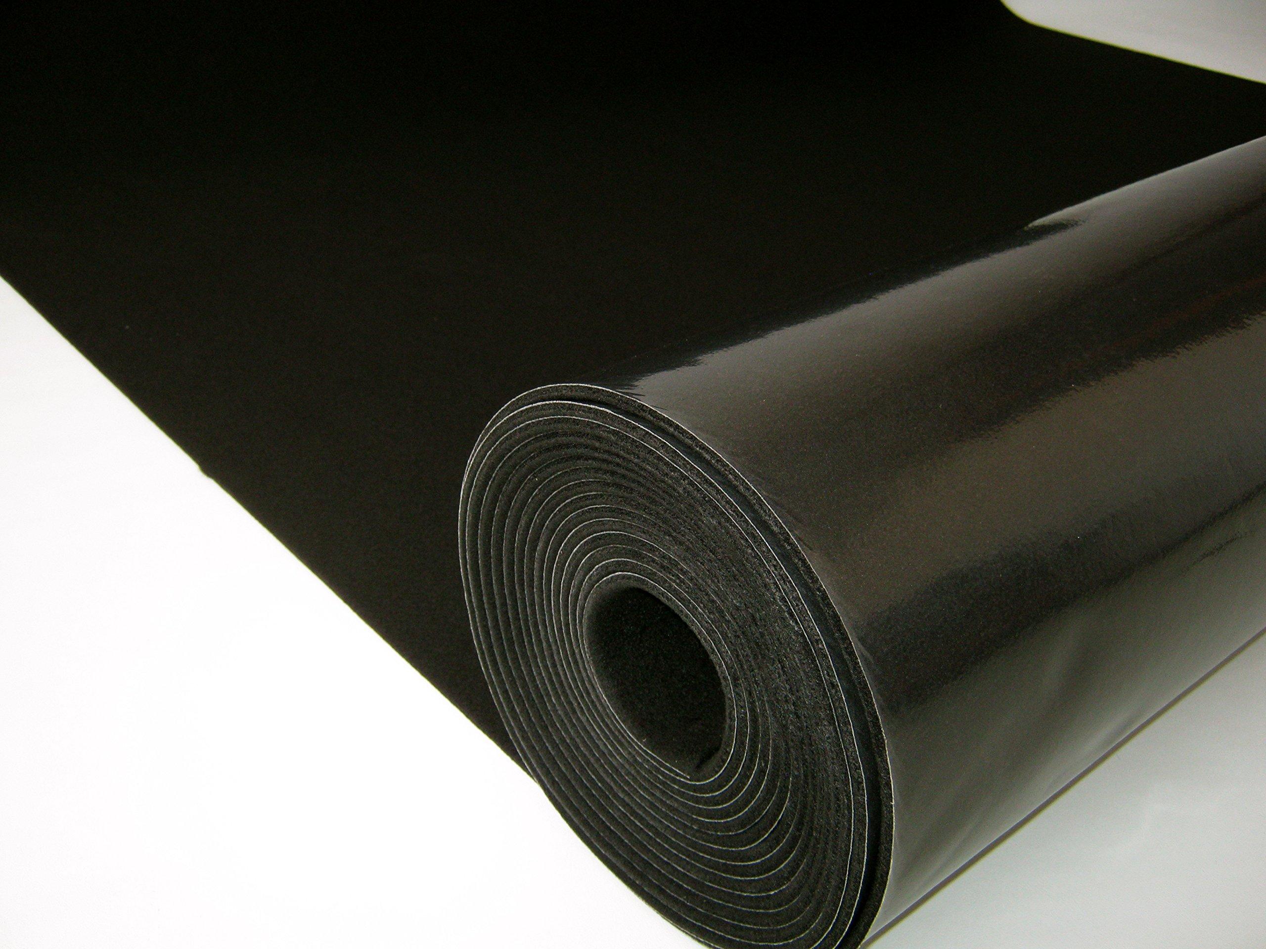 MuteX Soundproof Material (Black, 10 sqft, 5'x2')