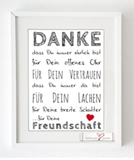 Art Emotions Dankesbotschaft Münze 925 Versilbert Mit