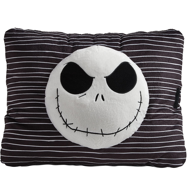 Amazon.com: Pillow Pets Black Jack Skellington Nightmare Before ...