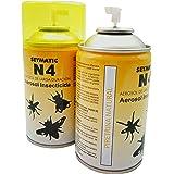 Insecticida Profesional Seymatic N4, con Piretrinas Naturales. Repele y mata fulminantemente Moscas, Mosquitos
