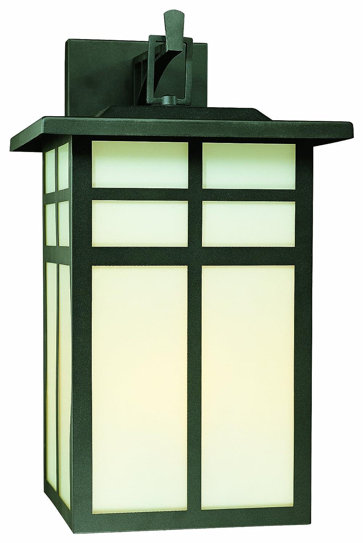 トーマス照明sl91067ミッションコレクション3ライト屋外壁取り付け用燭台、マットブラック B001CALZQU